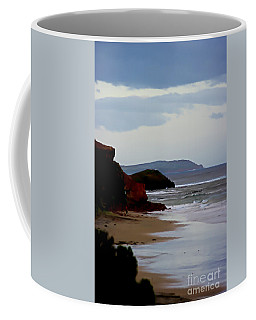 Digital Painting Of Smiths Beach Coffee Mug