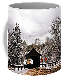 Coffee Mug featuring the photograph Dingleton Hill Bridge by Mike Martin