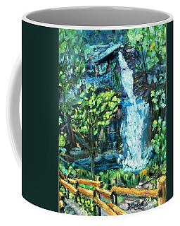 Dingman Falls Eastern Pennsylvania Coffee Mug