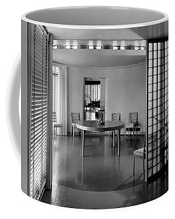 Dining Room In Mr. And Mrs. Alfred J. Bromfield Coffee Mug