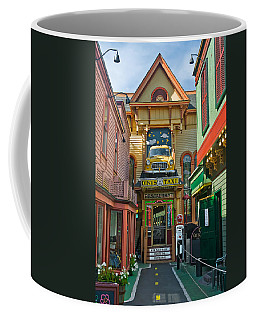 Dinks Taxi In Bar Harbor Coffee Mug