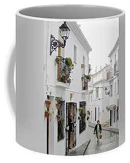 Dinner Delivery Coffee Mug by Suzanne Oesterling