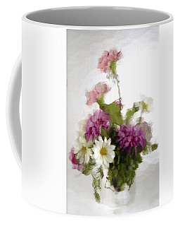 Coffee Mug featuring the photograph Dinner For Two by Penny Lisowski