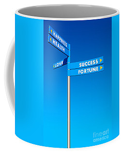Directions To Goals Coffee Mug