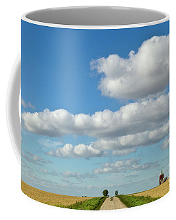 Dirt Road And Grain Elevator Williston Coffee Mug