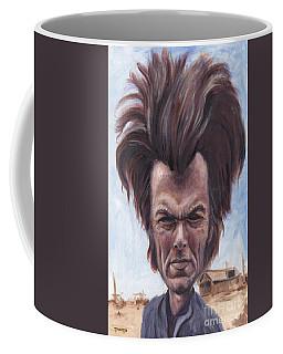 Dirty Hairy Coffee Mug by Mark Tavares