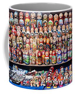 Display Of The Russian Nesting Dolls Coffee Mug