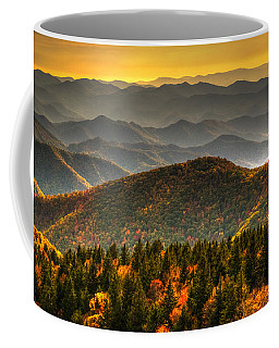 Distant Ridges Coffee Mug