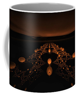 Distant Runway Coffee Mug by GJ Blackman