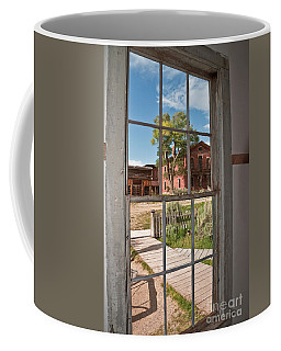 Through The Wavy Glass Coffee Mug