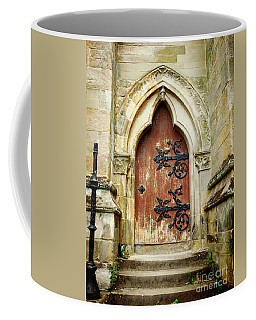 Distressed Door Coffee Mug
