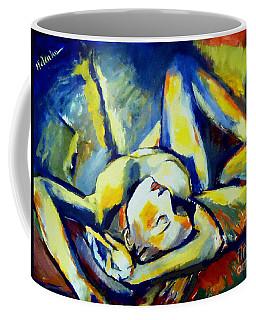 Distressful Coffee Mug by Helena Wierzbicki
