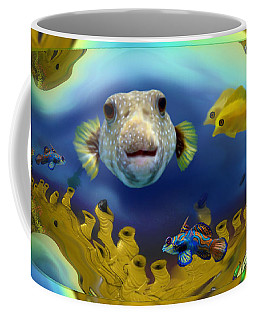 Diver's Perspective Coffee Mug
