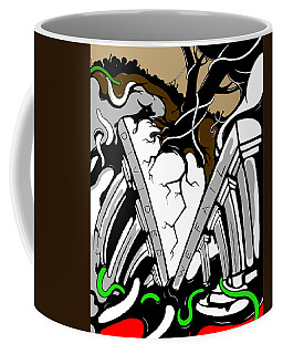 Divided Coffee Mug