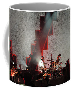Coffee Mug featuring the photograph Dmb Members by Aaron Martens
