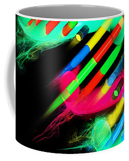 Coffee Mug featuring the digital art Dna Dreaming 8 by Russell Kightley