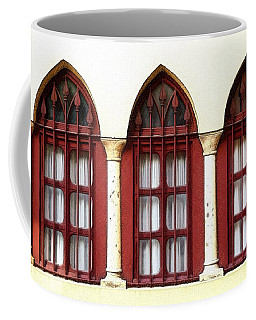 Coffee Mug featuring the photograph Do-00368 The 3 Windows Downtown by Digital Oil