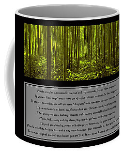 Do It Anyway Bamboo Forest Coffee Mug
