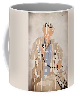 Doc. Brown Coffee Mug by Ayse Deniz