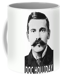 Doc Holliday Of The Old West Coffee Mug