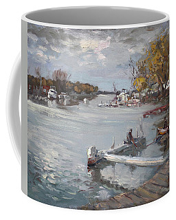 Dock At The Bay North Tonawanda Coffee Mug