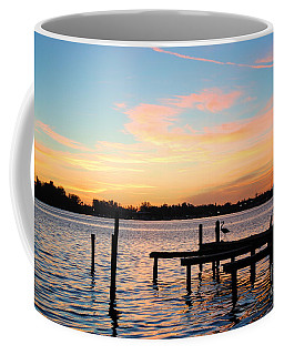 Dock On The Bay Coffee Mug by Margie Amberge