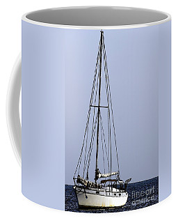 Coffee Mug featuring the photograph Docked At Bay by Lilliana Mendez