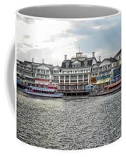 Docking At The Boardwalk Walt Disney World Coffee Mug