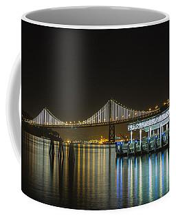 Docks And Bay Lights Coffee Mug