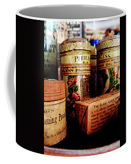 Doctor - Liver Pills In General Store Coffee Mug by Susan Savad