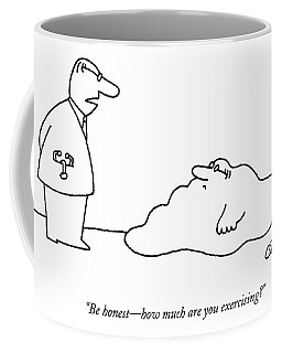 Doctor To Patient Who Appears To Be A Blob Coffee Mug
