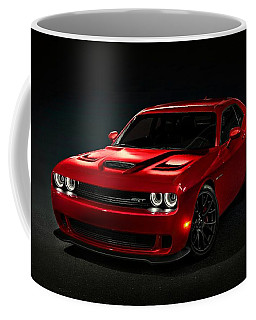Dodge Challenger S R T Hellcat Coffee Mug