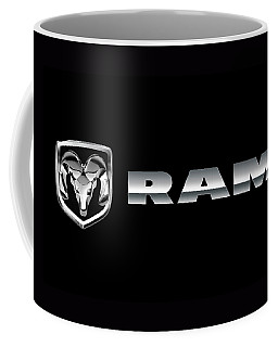 Dodge Ram Logo Coffee Mug