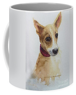 Doe Eyed Puppy Coffee Mug