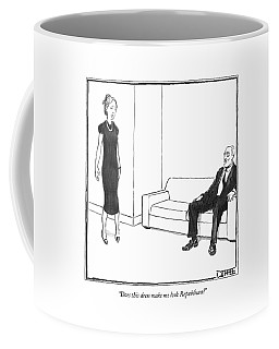 Does This Dress Make Me Look Republican? Coffee Mug