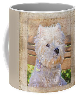 Dog Art - Just One Look Coffee Mug
