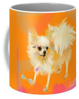Dog Chihuahua Orange Coffee Mug
