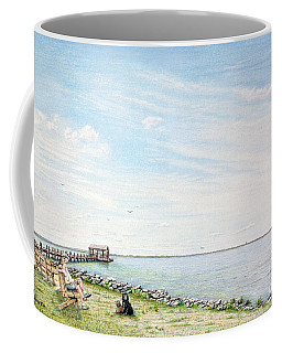 Dog Days On Obx Coffee Mug