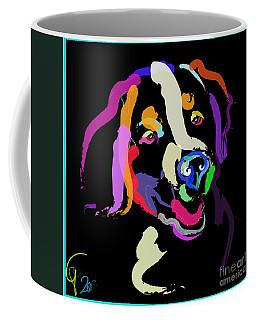 Dog Iggy Color Me Bright Coffee Mug