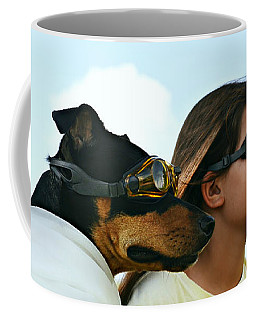 Dog Is My Co-pilot Coffee Mug