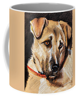 Dog Portrait Drawing Coffee Mug