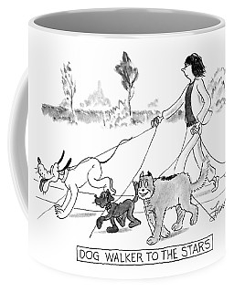 Dog Walker To The Stars Coffee Mug