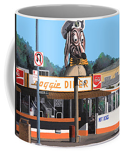 Doggie Diner 1986 Coffee Mug