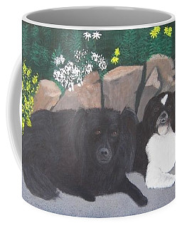 Dogs Daisy And Buttons Coffee Mug