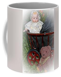 Doll And Teddy Coffee Mug