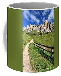 Dolomiti - Cir Group Coffee Mug by Antonio Scarpi