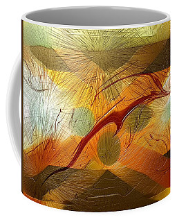 Dolphin Abstract - 2 Coffee Mug