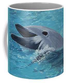 Dolphin At Play Coffee Mug