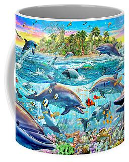 Dolphin Reef Coffee Mug