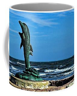 Dolphin Statue Coffee Mug